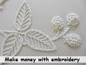 promote embroidery business