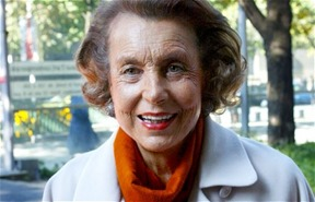 Liliane Bettencourt richest person