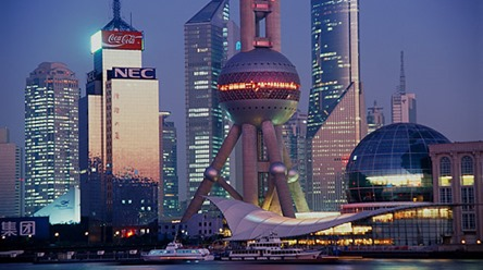 shangai richest city