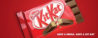 Kit Kat best selling chocolate