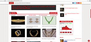 Latestindianjewellery.com Indian Jewelry website