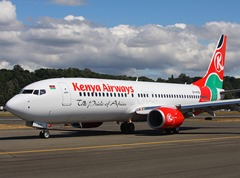 Kenya Airways Air Travel Companies with Most of the Plane Crashing