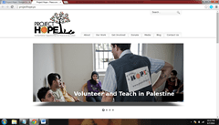 Project Hope Popular Blogs of Palestine