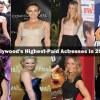 10 Hollywood's Highest-Paid Actresses in 2015