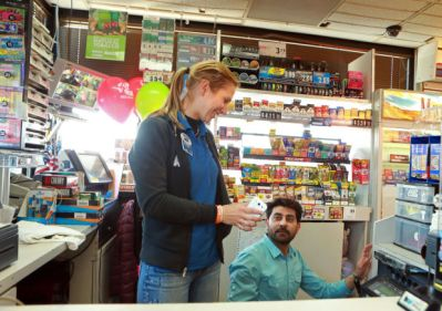 johan ans susan brands Powerball Jackpot in US