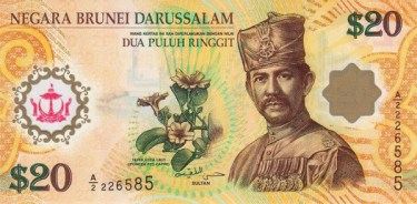 Bruneian Dollar expensive currency
