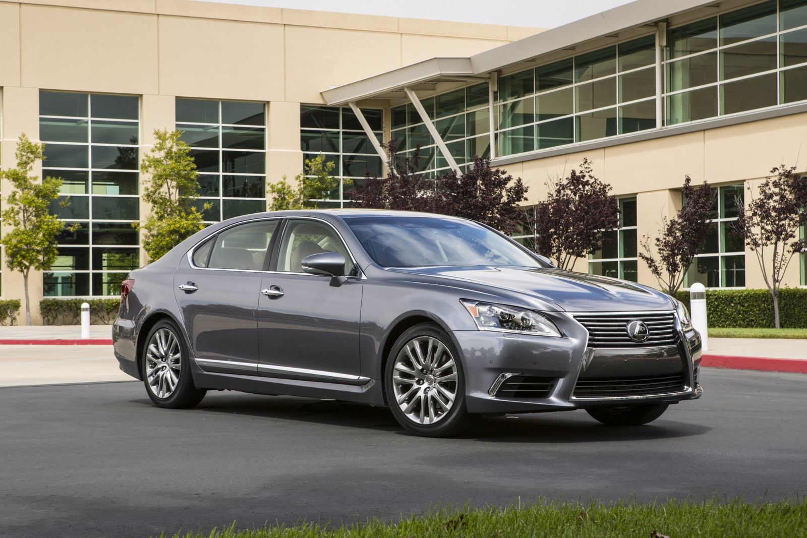 Lexus LS luxurious car
