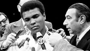 TV debut of muhammad ali