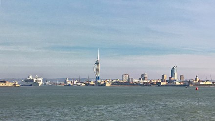 Leaving Portsmouth