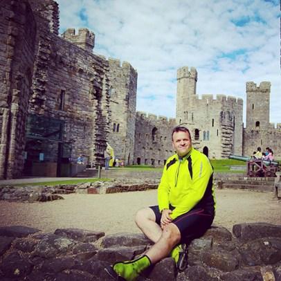 At Caernarfon