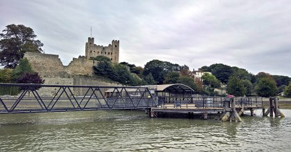 Rochester Castle from the 'Pier'