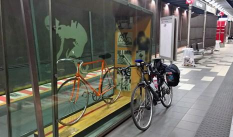 The Shrine at Eddy Merckx Station