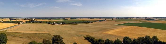 Waterloo Battle Field Panorama
