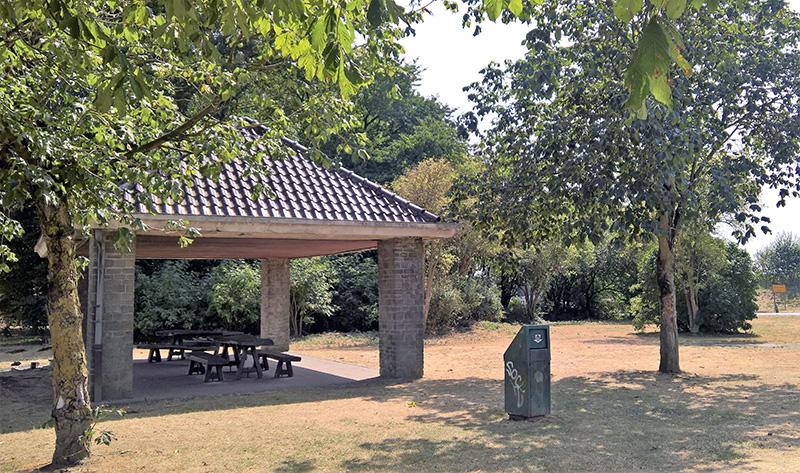 Wellington's Battle HQ Picnic Benches