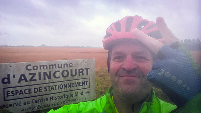 Yes - I did take that photo at Agincourt