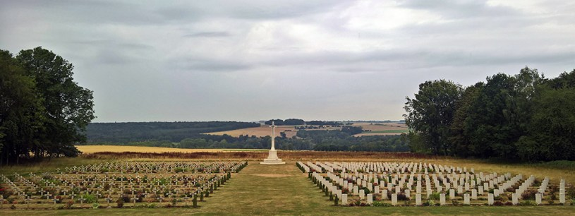 Thiepval French and British Cemetery