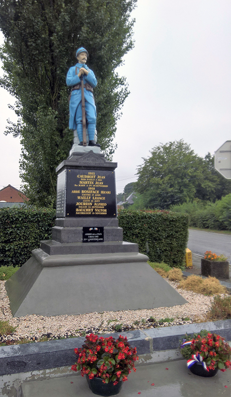 Beaudricourt War Memorial