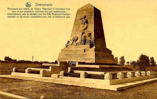 Zuidschote Original Gas Attack Monument