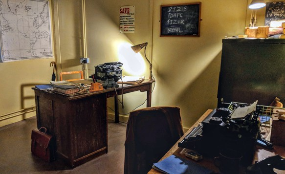 Alan Turing's Office, Bletchley