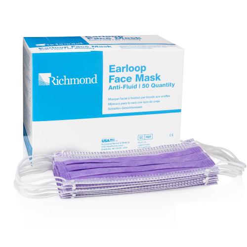 Richmond amp; Face Mask Medical Dental Earloop Level I