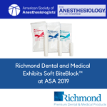 Richmond Dental and Medical Exhibits Soft BiteBlock™ at ASA 2019