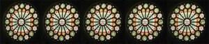 richmond ferry church rose windows