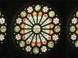 richmond ferry church rose windows
