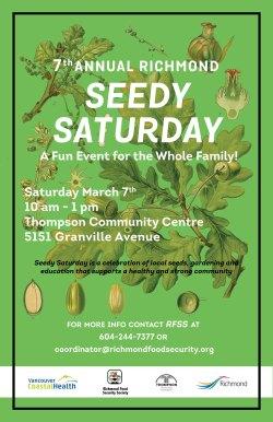 Seedy Saturday Poster