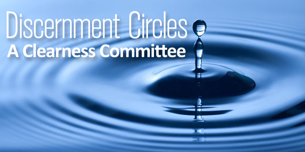 You can request your own Discernment Circle