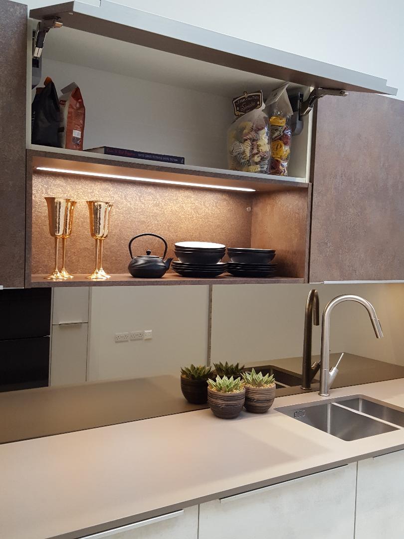 Ex Display Galley Kitchen For Sale At Richmond Kitchens Kingston