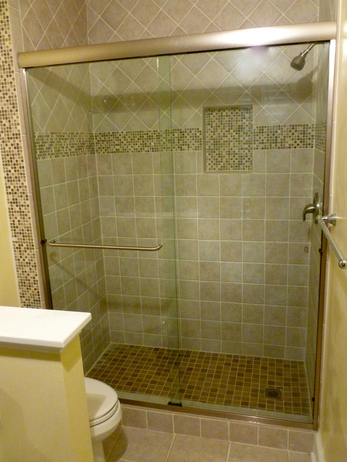 Manakin Sabot Semi Frameless Sliding Shower Door Richmond Va Rva