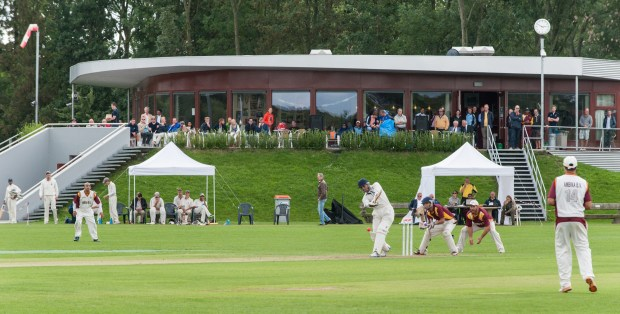 Finale dag T20 op Voorburg Cricket Club (VCC) in 2015