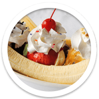 Banana Split Ice Cream Social