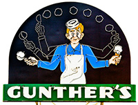 Gunther's Ice Cream, partners with Rich's Ice Cream Catering