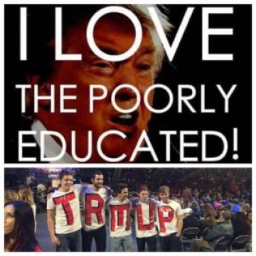 poorly educated