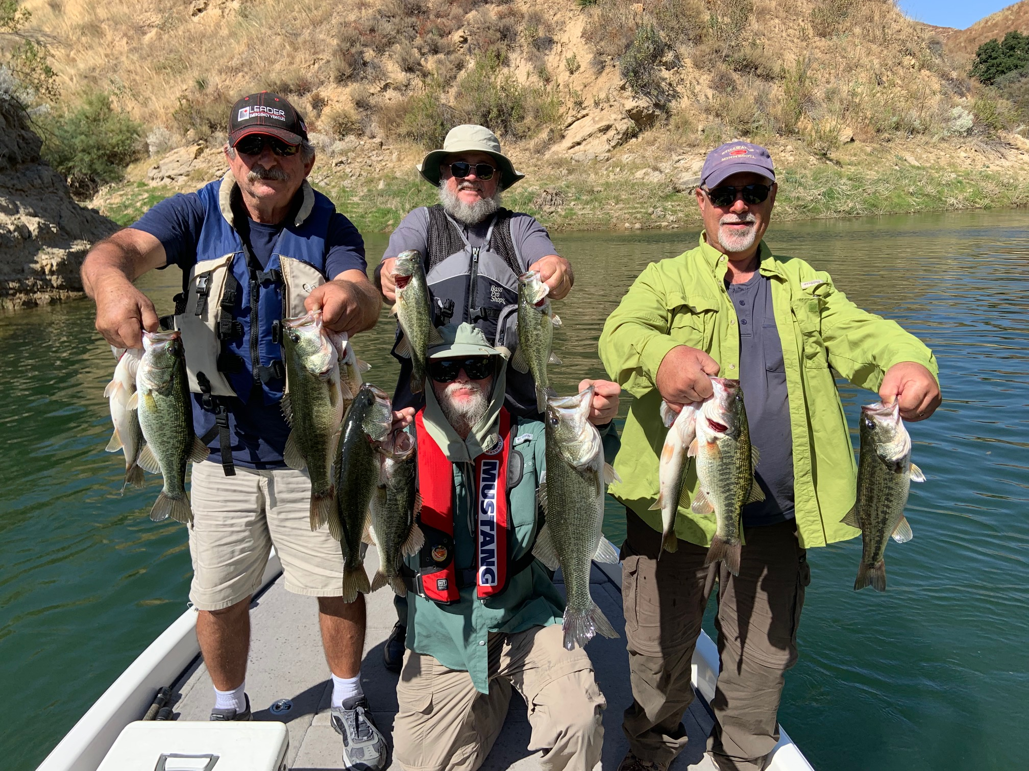 Castaic Lake Bass Fishing Guide 9/23/2019
