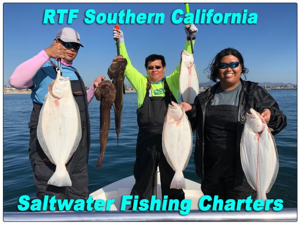 RTF Southern California Saltwater Fishing Chaters