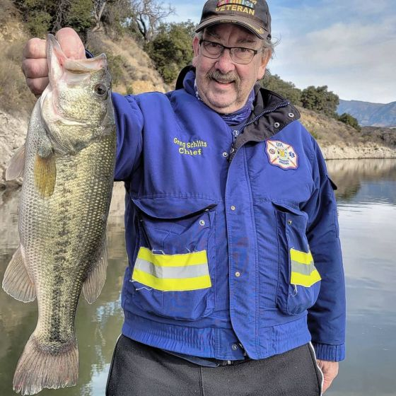 Southern California Bass Fishing Guide's Report 01/07/2021
