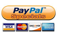 PayPal Specials