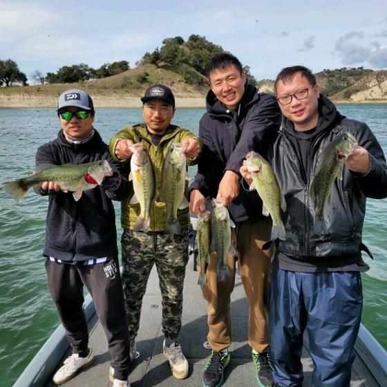 Southern California Bass Fishing Guide's Report 02/14/2021