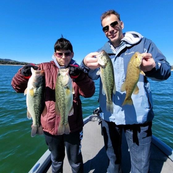 Southern California Bass Fishing Guide's Report 02/20/2021