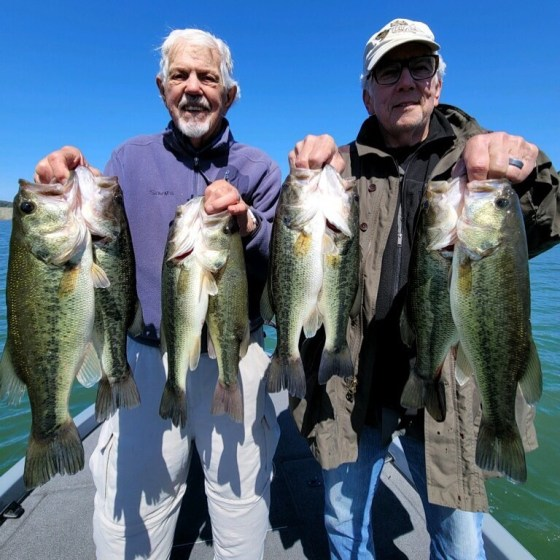 Southern California Bass Fishing Guide's Report 04/16/2021