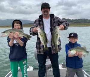 Southern California Bass Fishing Guide's Report 04/22/2021