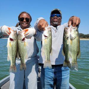 Southern California Bass Fishing Guide's Report 08/13/2021