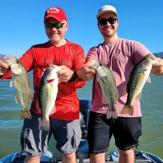 Southern California Bass Fishing Guide's Report 10/14/2021