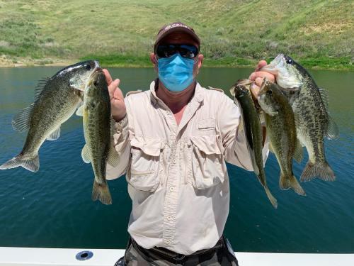Southern California Bass Fishing Guide's Report 04/27/2020
