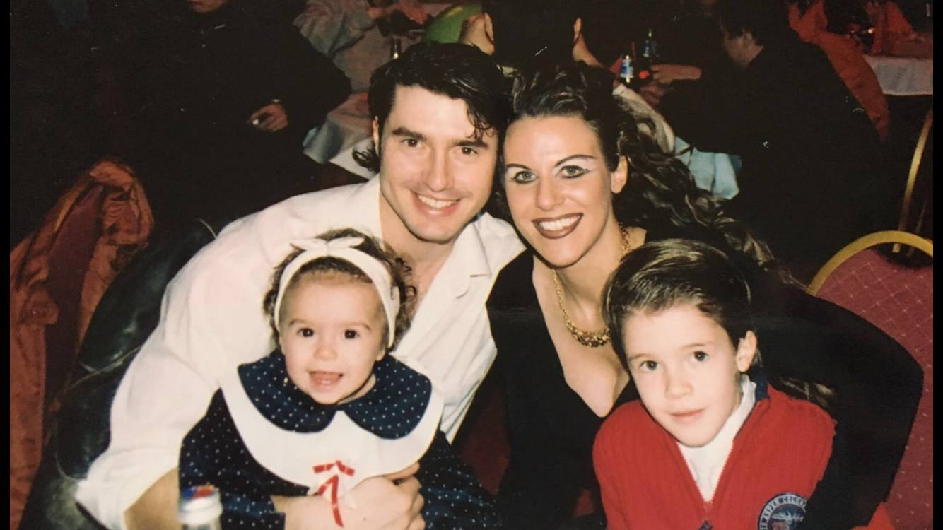 Richter Flórián és családja