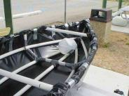 PVC pipe and garbage bags do not make a boat.