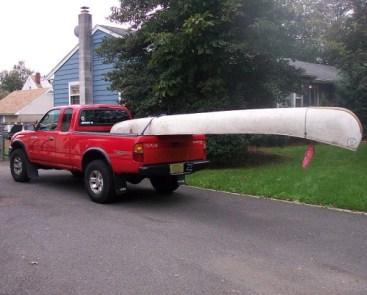 Cantilever Canoe!
