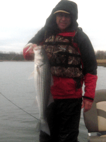 """Steve with a """"near keeper"""" caught on top with a big S"""